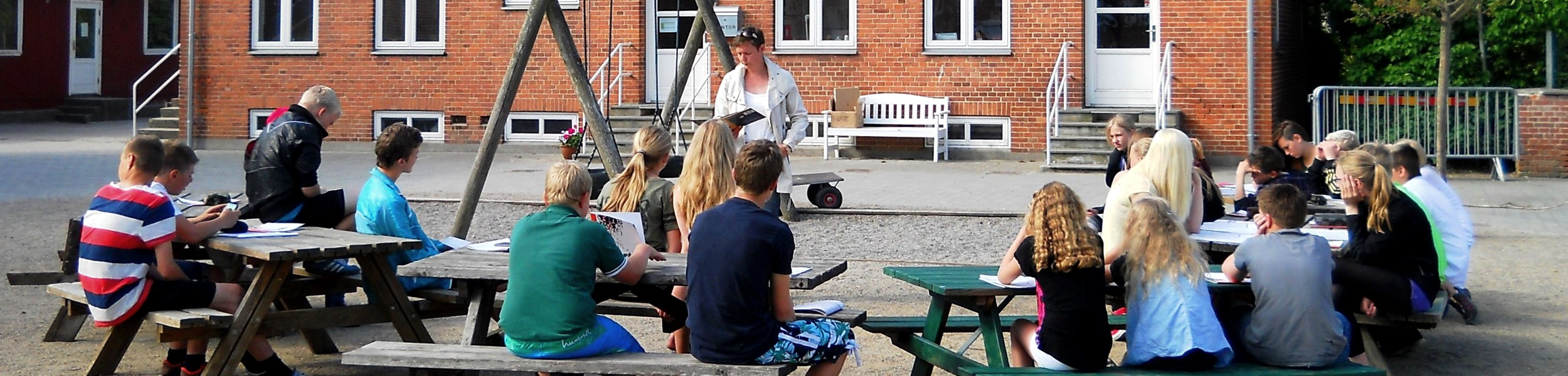 Vores historie om Spjellerup Friskole og fribørnehave